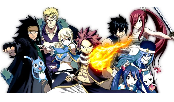 Anime Action Terbaik Fairy Tail (2006)