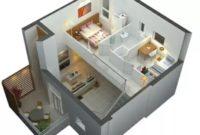 15 Denah Rumah Minimalis 2 Lantai Terbaru 2018 Rumah