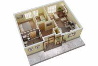 15 Denah Rumah Sederhana Terbaru dan Terindah Rumah