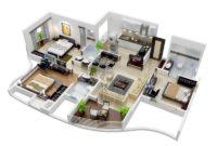 15 Denah Sketsa Rumah Minimalis Dengan Desain Modern Rumah