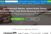 8 Situs Freelance Indonesia Terpercaya dan Terbaik Situs