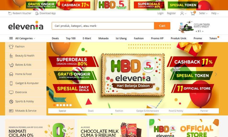 10 Situs Belanja Online Terbaik Dan Terpercaya Di Indonesia Situs